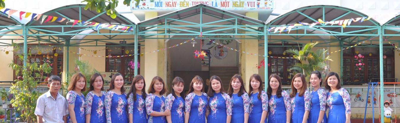Tập thể Trường Mẫu giáo Đại Sơn